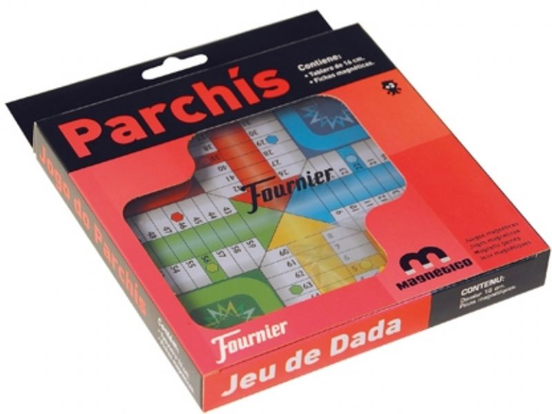 Parchis Tablero Magnetico Fournier 16 Cm